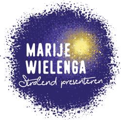 Logo Marije Wielenga Stralend Presenteren